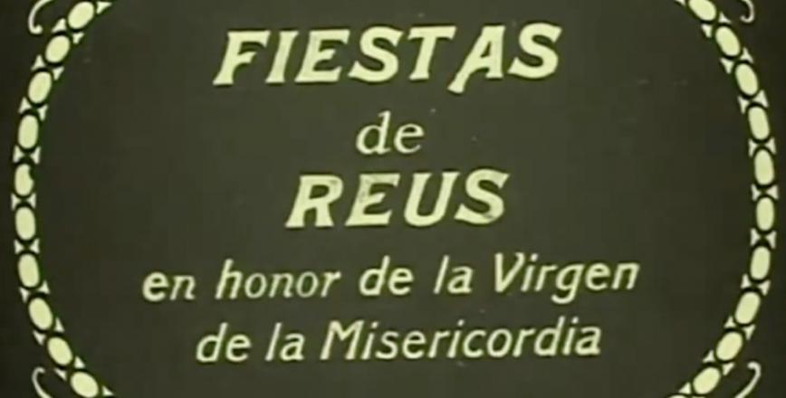 Caràtula del documental de Misericòrdia 1929