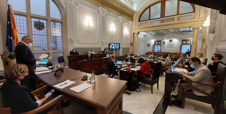 Sessió del Ple de l'Ajuntament de Reus
