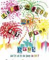 Cartell de la Festa Major de Sant Pere de Reus 2017