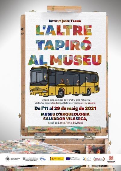 DIM21 Obertura de l'exposició L'altre Tapiró al Museu