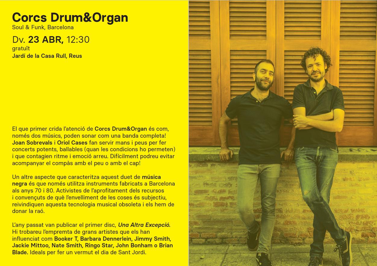 Concert RCC: Corcs Drum&Organ