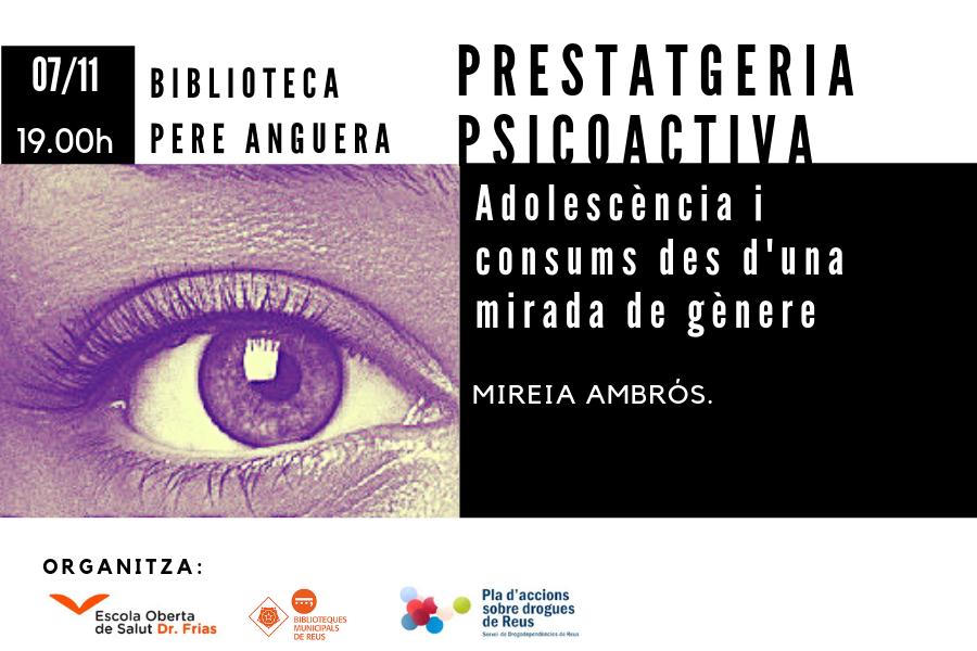 Adolescència i addiccions des d'una mirada de gènere