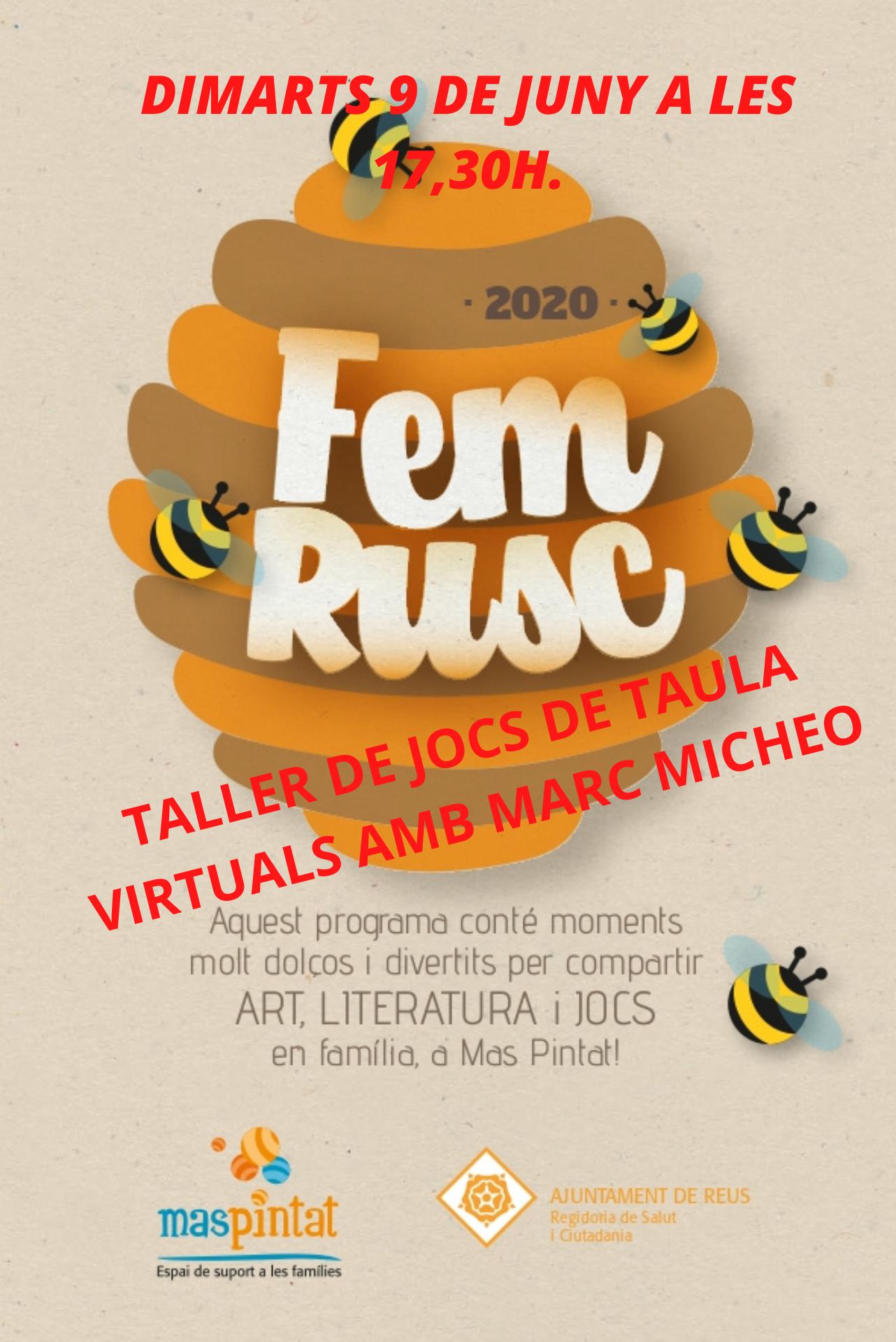 Cloenda curs FEM RUSC - Jocs de Taula en família