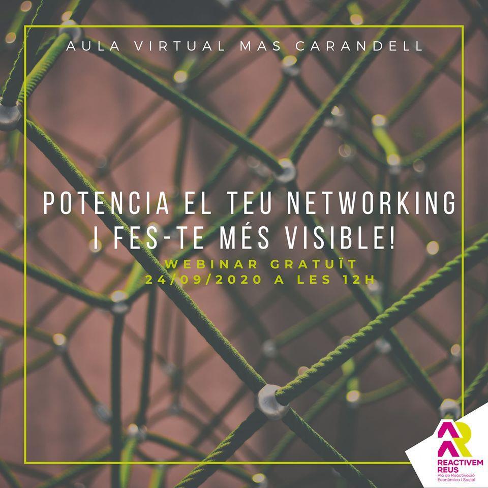 Webinar: Potencia el teu networking i fes-te més visible!