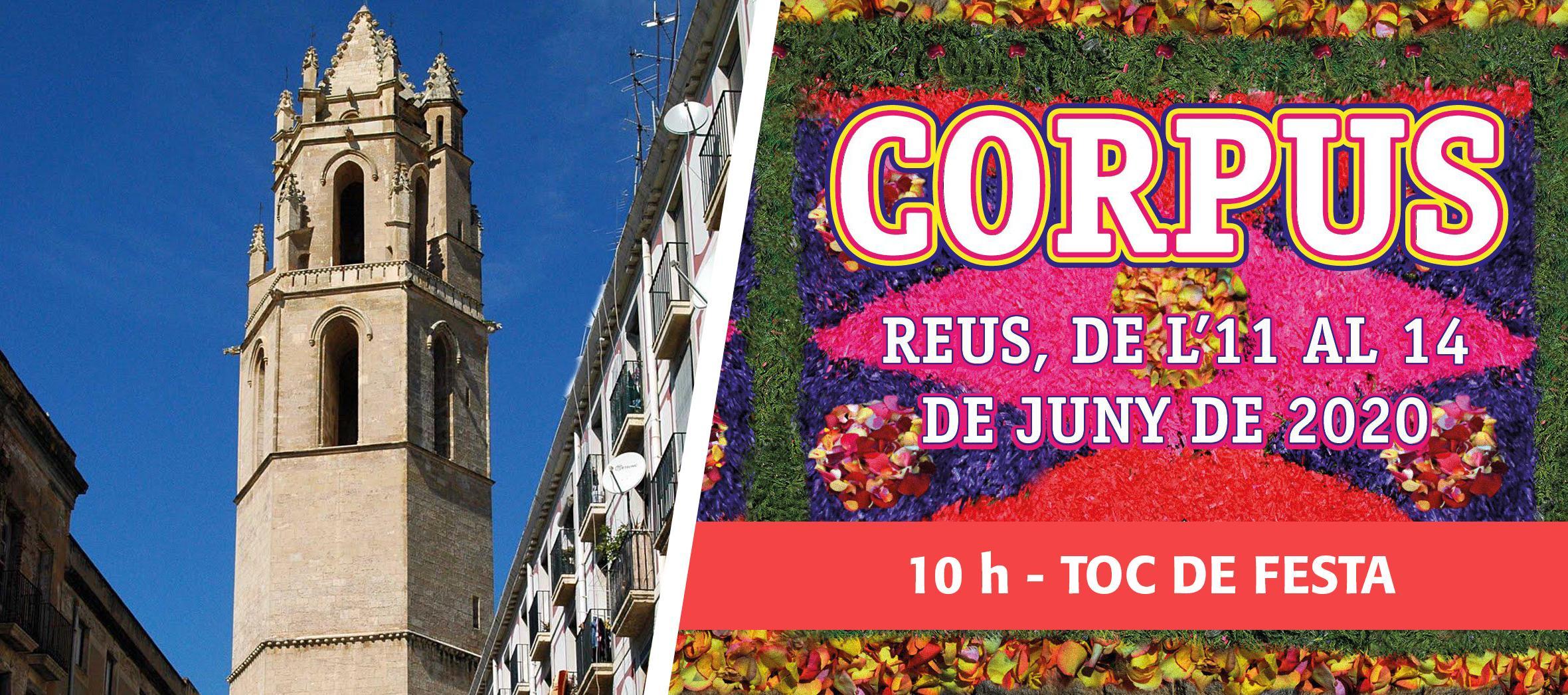 Corpus 2020: Toc de Festa