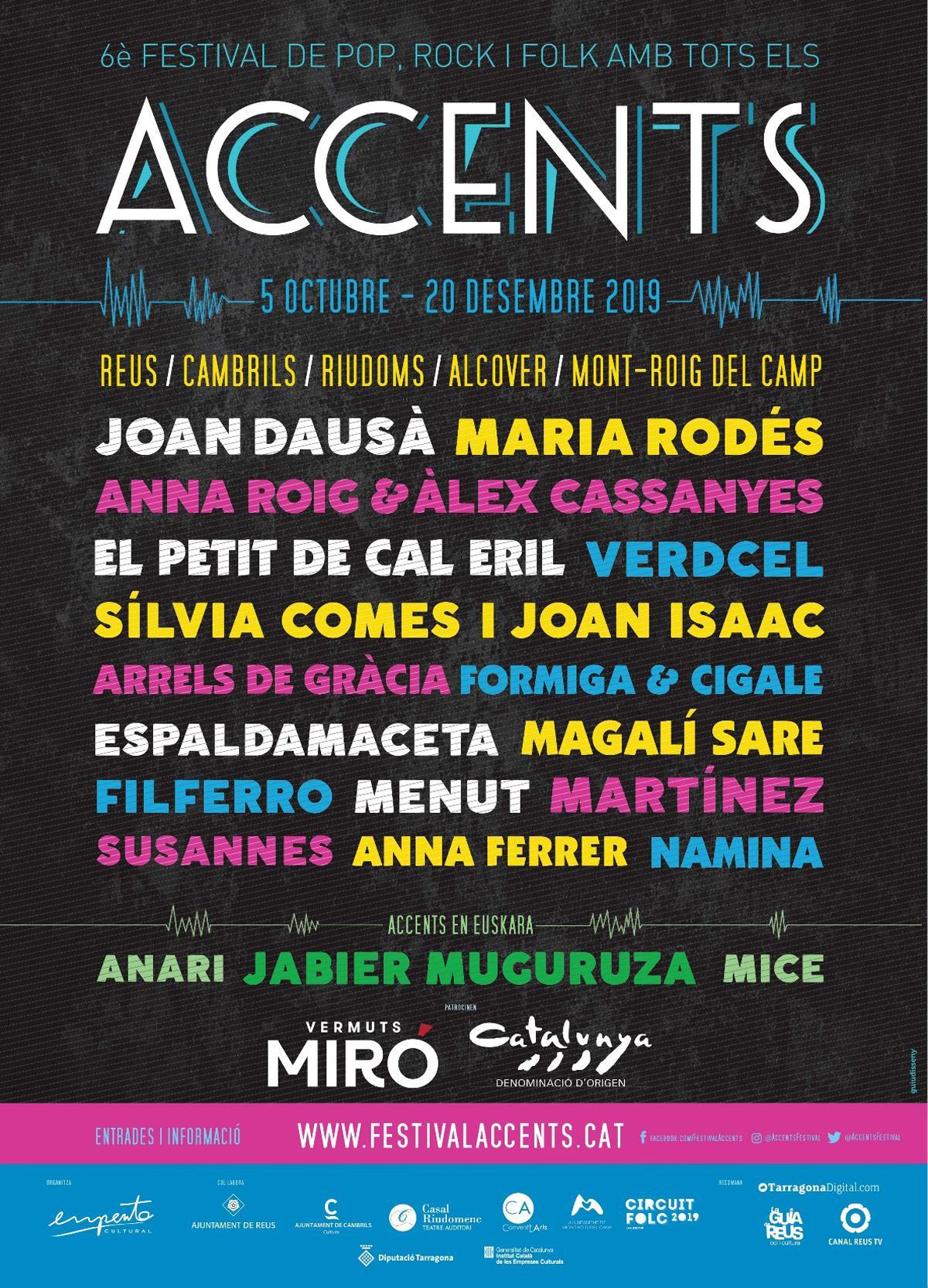 Festival Accents · Concert de Namina