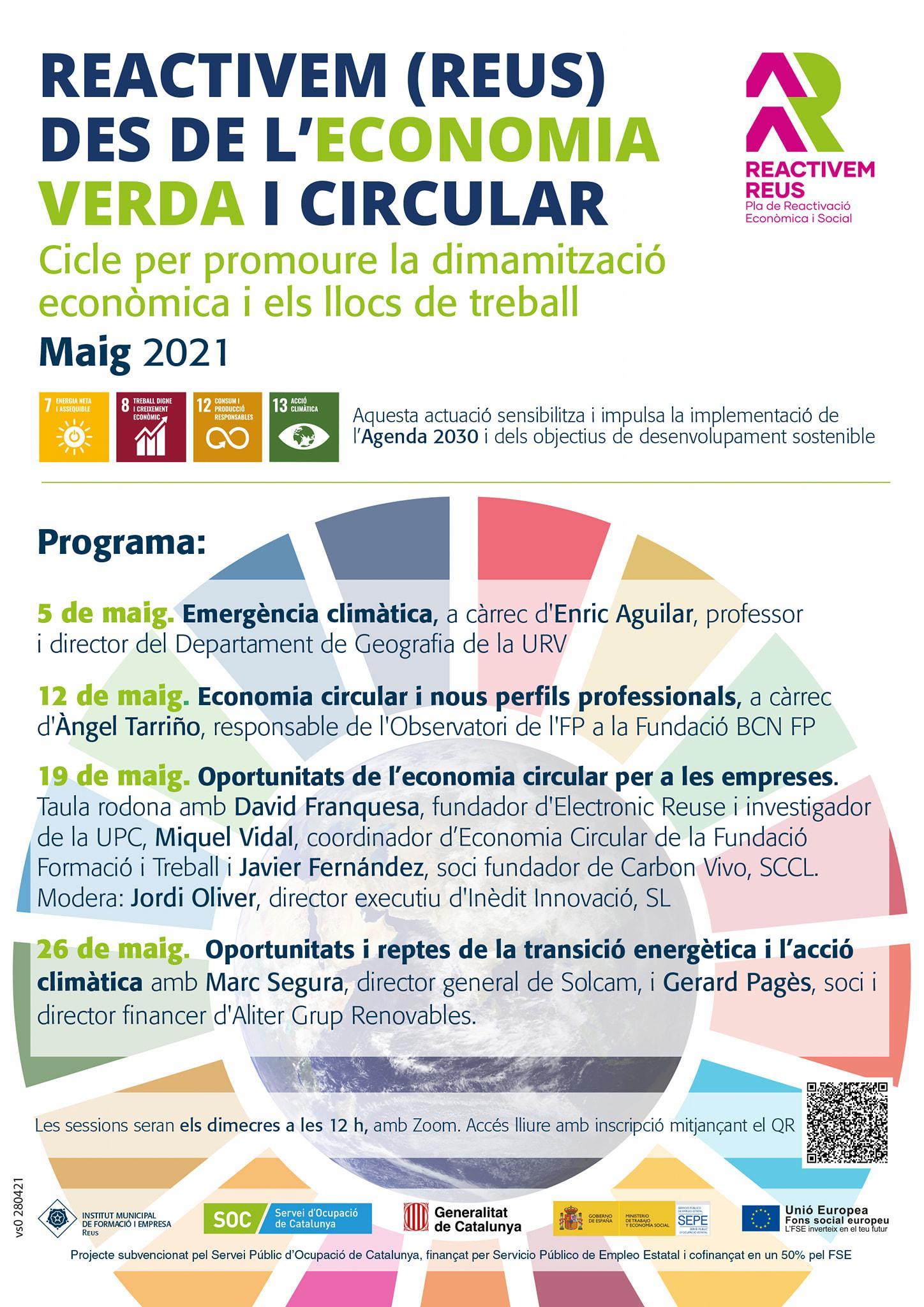 Seminari web: Emergència climàtica