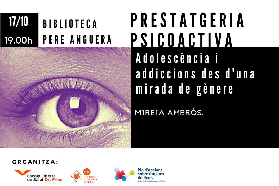 Adolescència i addiccions des d'una mirada de gènereE