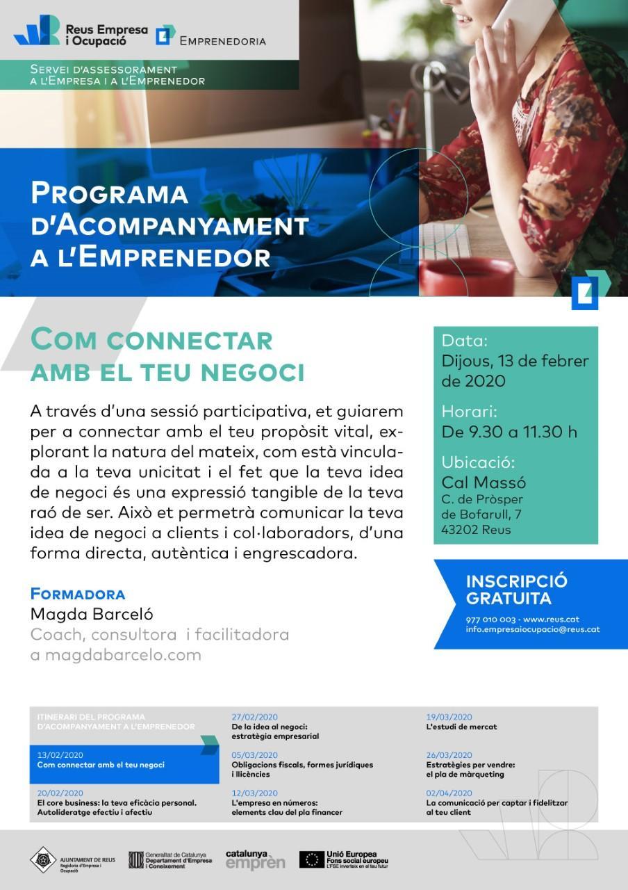 Sessió: Com connectar amb el teu negoci