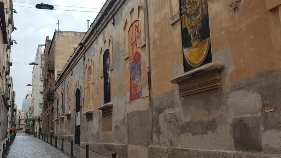 Inauguració Street Gallery. Llambordes