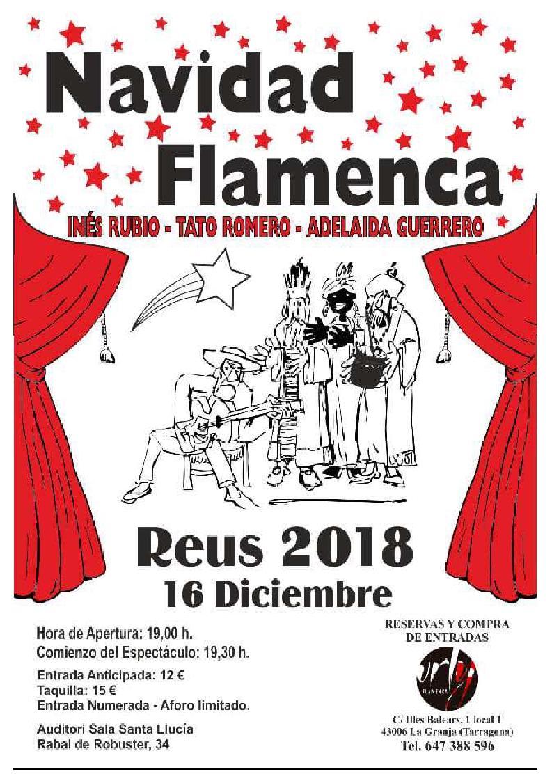Navidad flamenca amb Inés Rubio