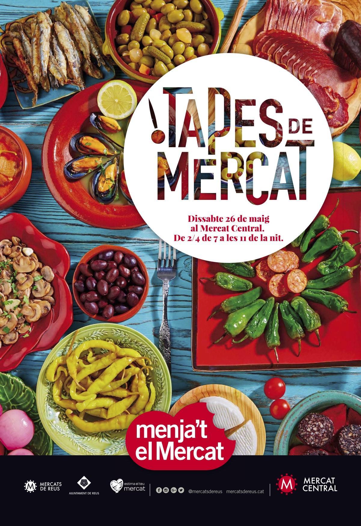 Menja't el Mercat, la nit de tapes al Mercat Central