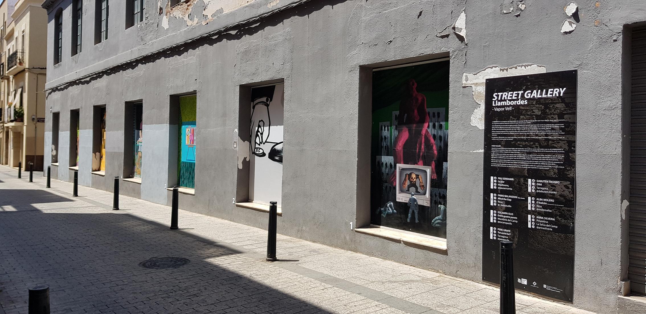 Street Gallery. Vapor Vell