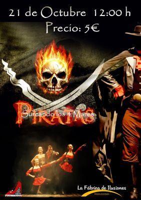 'Piratas surcando los 4 mares', de la Cia La Fábrica de Ilusiones