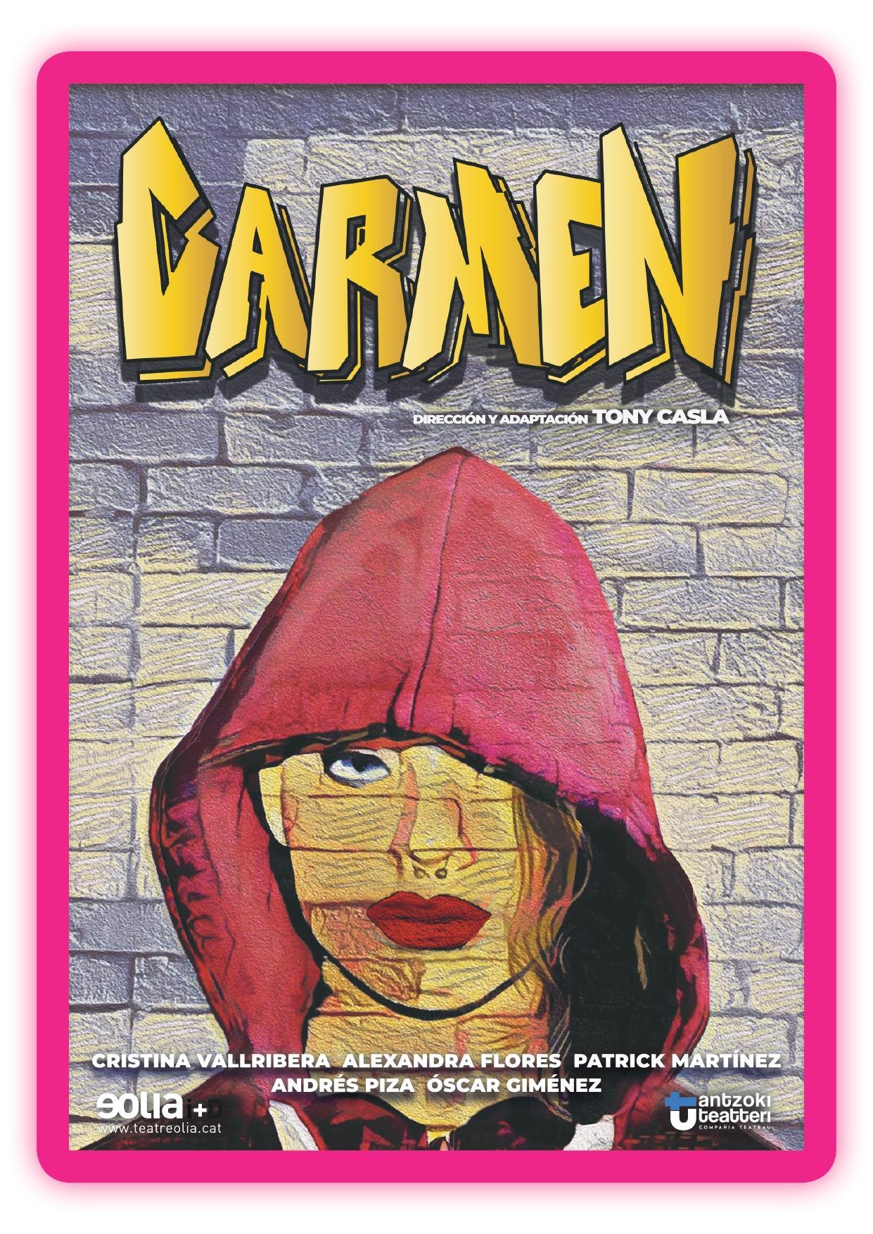 CARMEN, a càrrec de la companyia de Barcelona ANTZOKI TEATTERIE