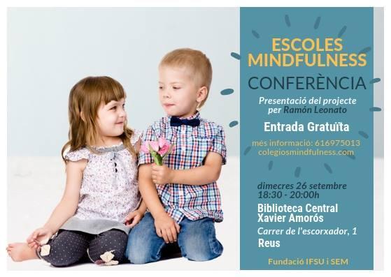 Presentació del Projecte Mindfulness a càrrec de Ramon Leonato