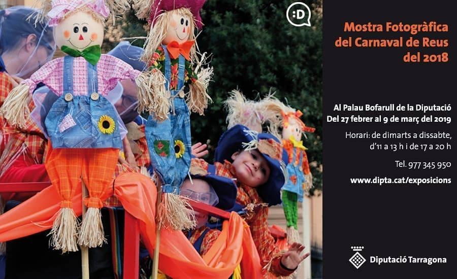 Obertura de la XIV Mostra Fotogràfica del Carnaval de Reus, any 2018