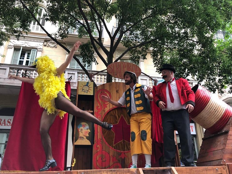 Espectacle de teatre, màgia i circ «Antipasti»