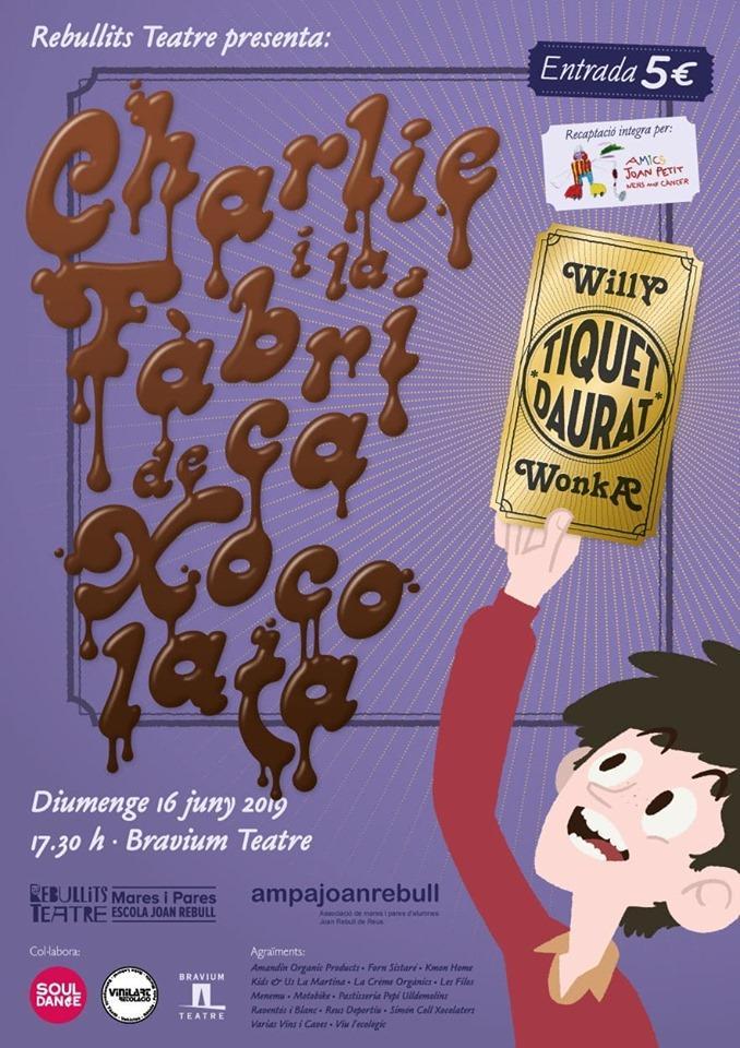 Representació de Charlie i la Fàbrica de Xocolata