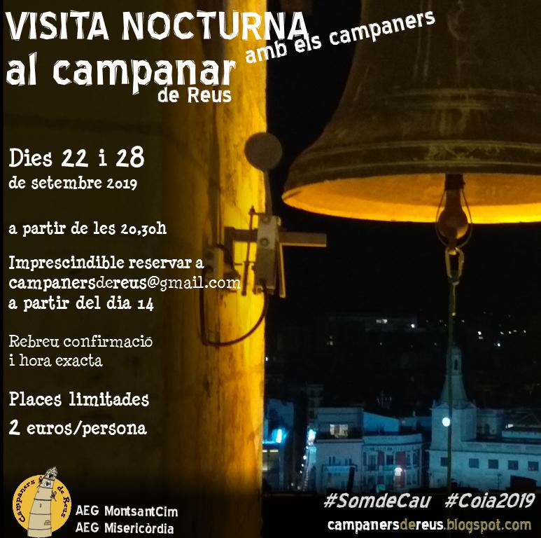 Visites nocturnes al campanar