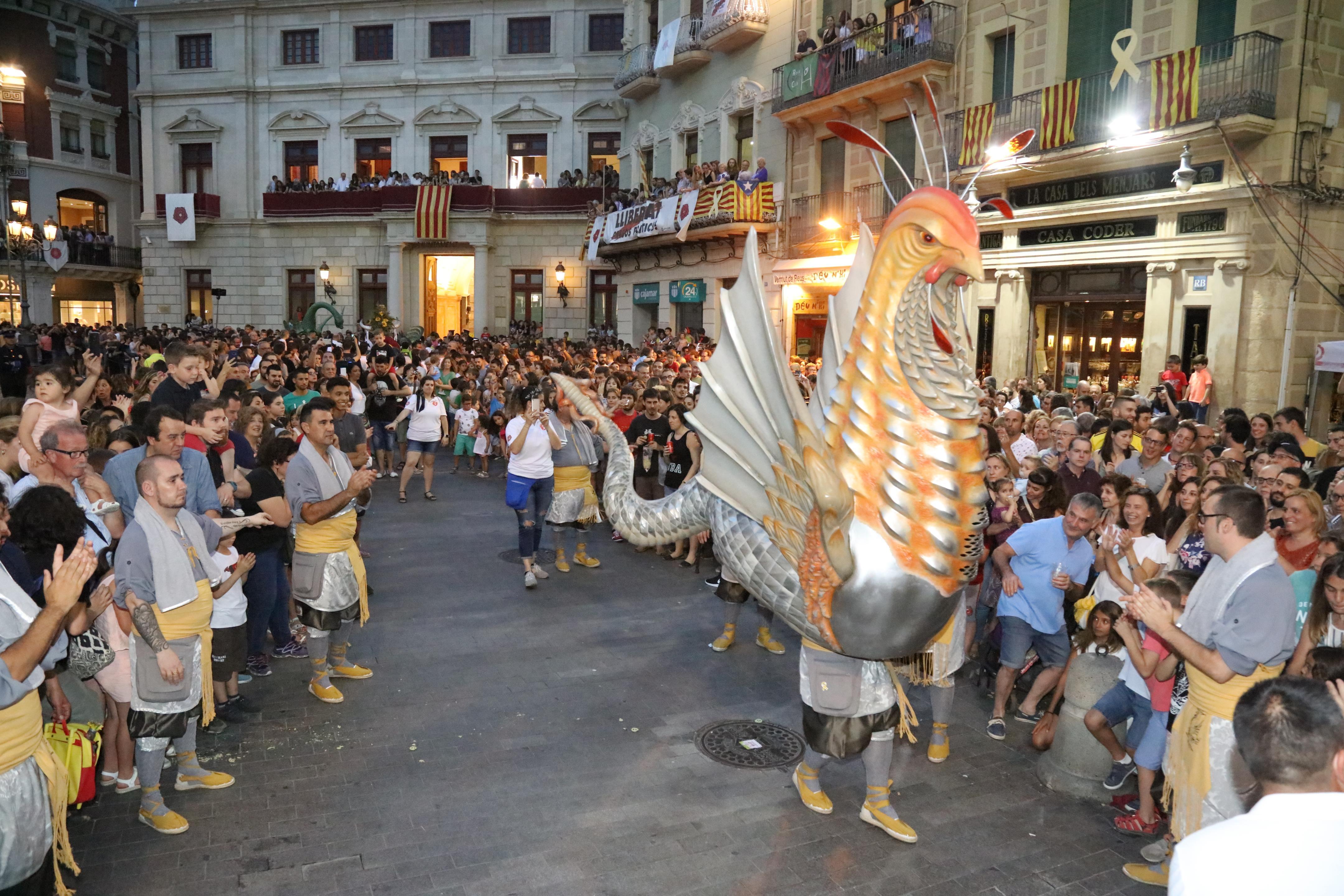 Anada a completes del Seguici Festiu