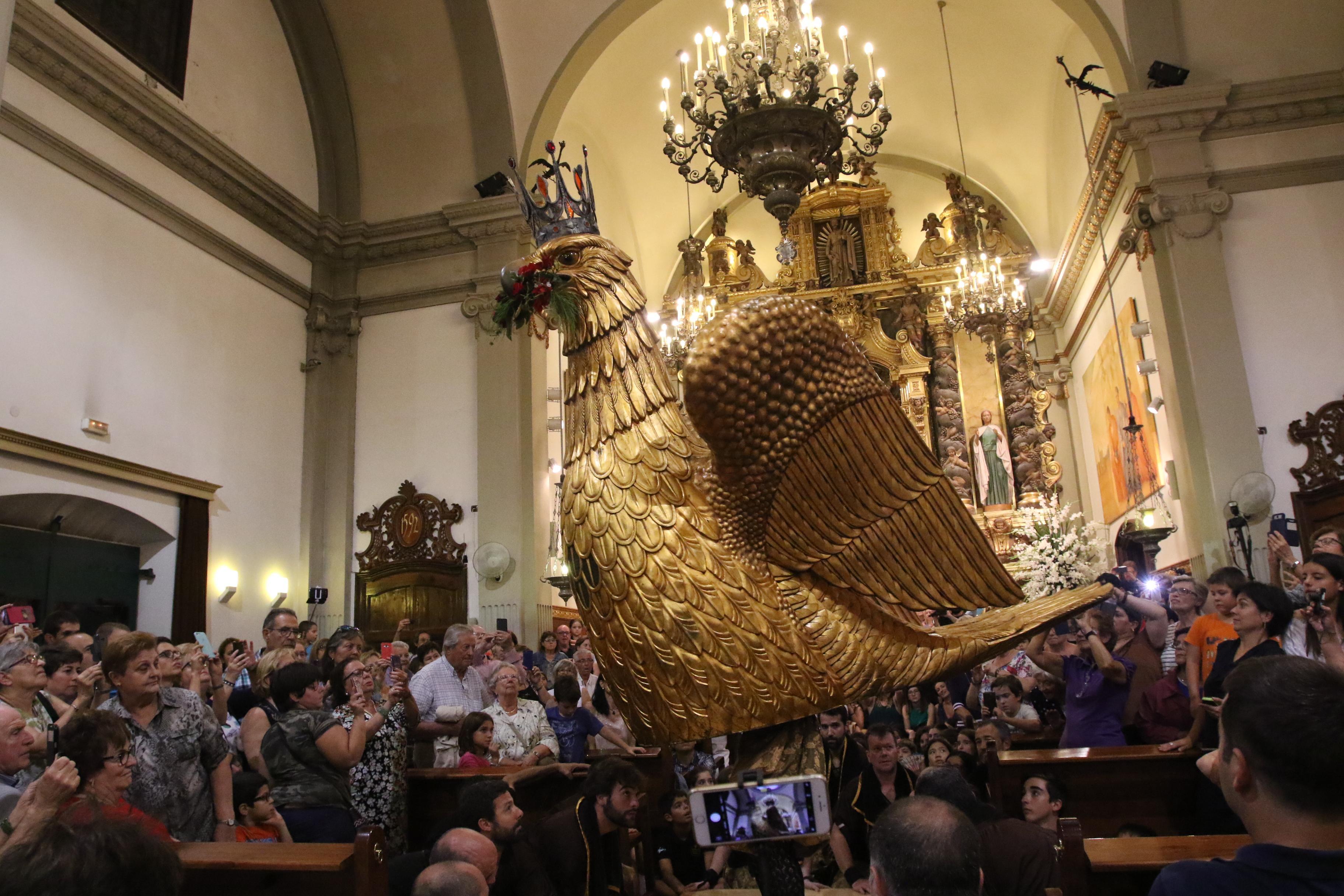 MISERICÒRDIA 2018 - Ball solemne curt de l'Àliga de Reus i goigs de la mare de Déu de Misericòrdia