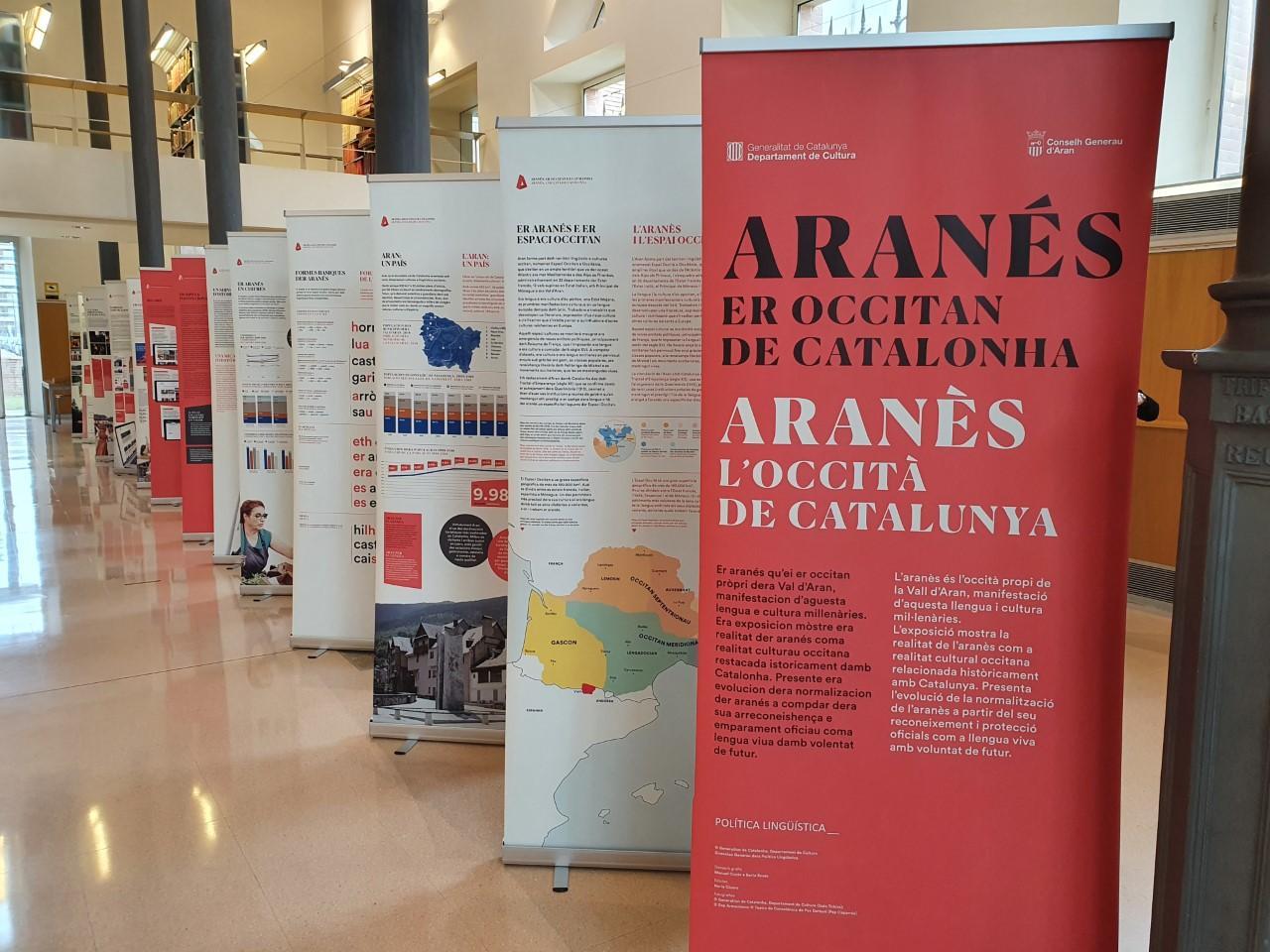 """Exposició """"Aranès, l'occità de Catalunya"""""""