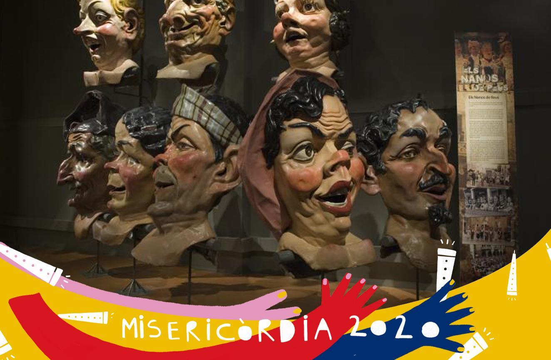 Misericòrdia 2020: visita guiada de l'exposició «Ara toca festa»