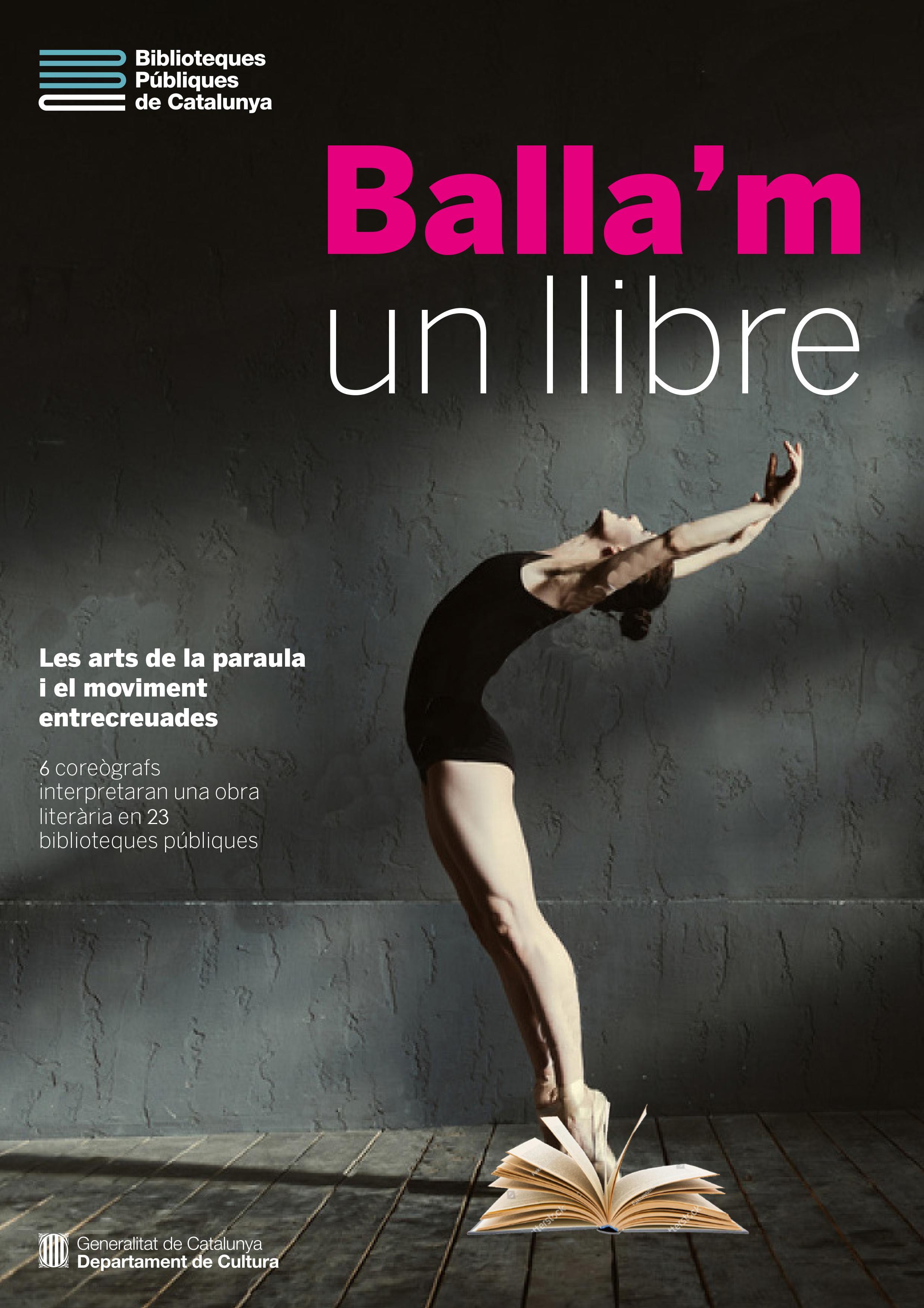 «Balla'm un llibre» digital, «Olor de menta», l'obra de Joan Brossa amb la Cia.