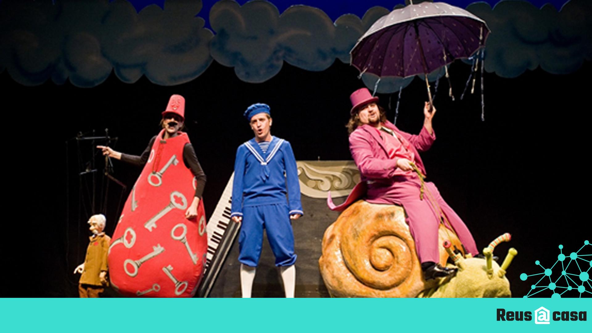 Teatre Bartrina: El Petit Dalí i el camí cap els somnis