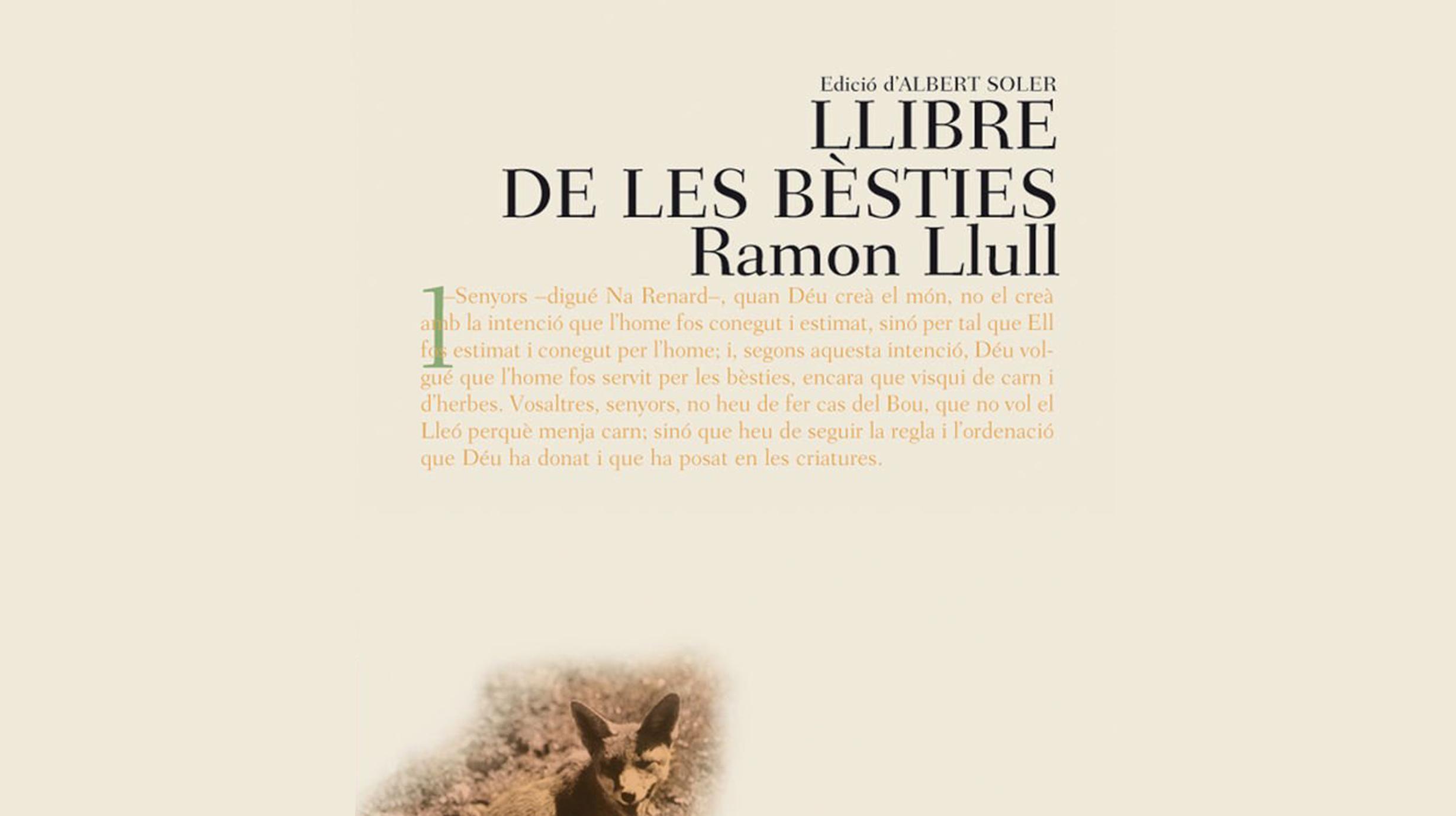 Contes a cau d'orella. Contes dels Llibre de les Bèsties de Ramon Llull.