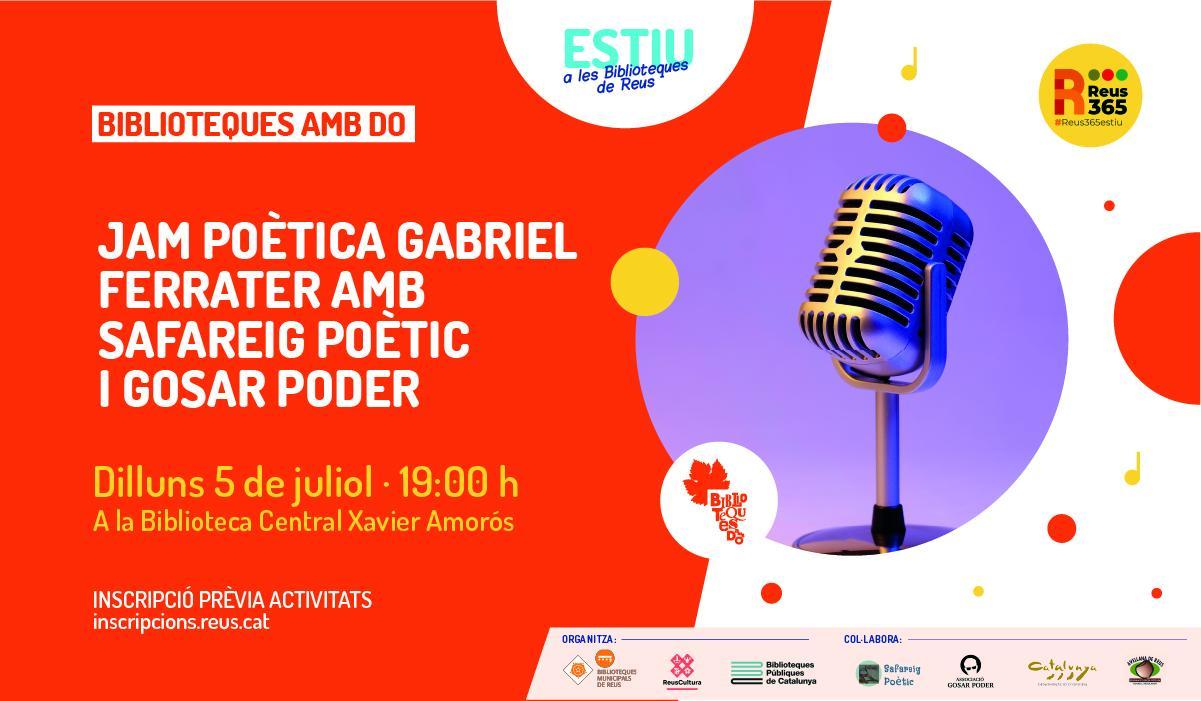 Biblioteques amb DO: Jam poètica: Ferrater i el suïcidi