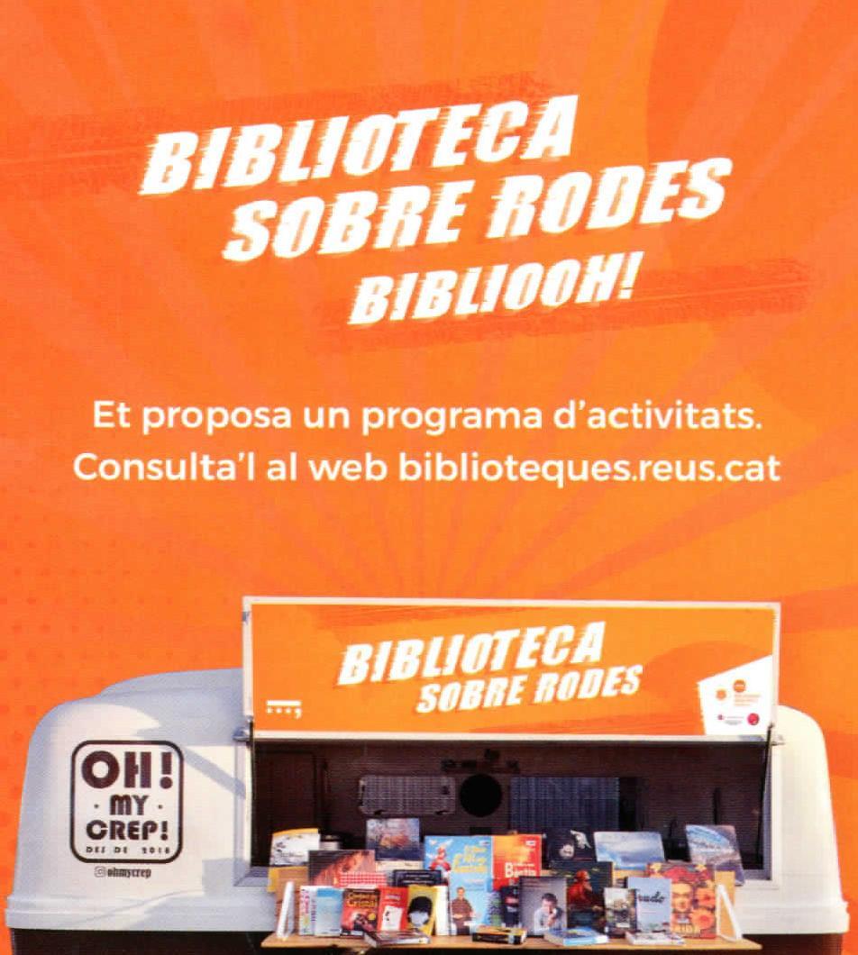 Biblioteca sobre rodes. Hospital Sant Joan