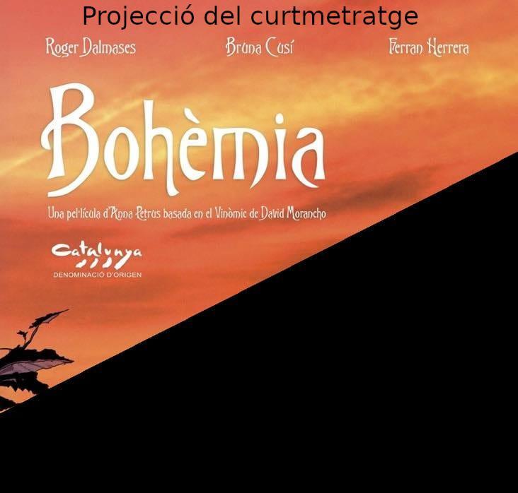 Projecció del curt Bohèmia