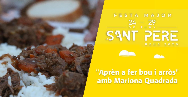 Sant Pere 2020: Taller de gastronomia