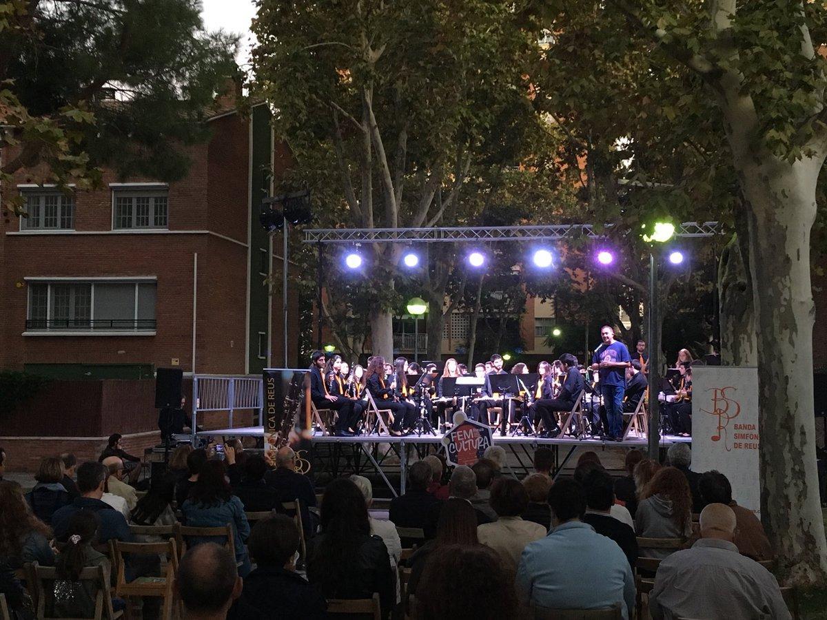 CICLE MÚSICA ALS BARRIS - Concert de la Banda Simfònica de ReusE