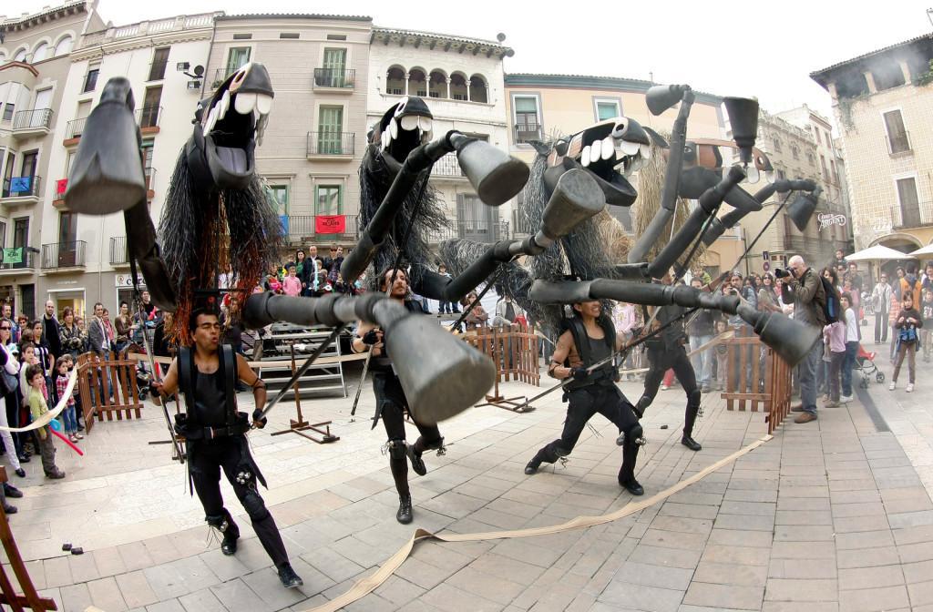 Espectacle itinerant: Cavalls de Menorca