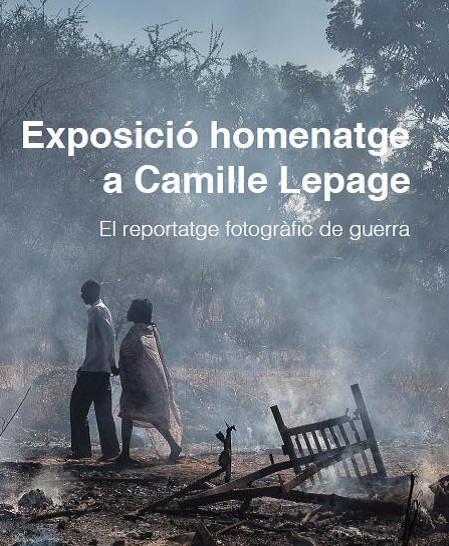 Exposició fotogràfica Camille Lepage