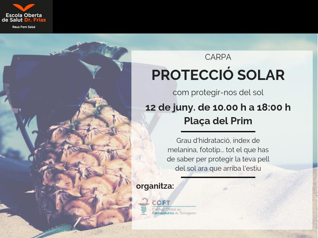 Carpa de Protecció Solar