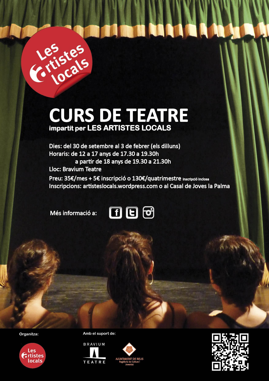 """9a Mostra del taller de teatre """"Tots els dilluns del món"""""""