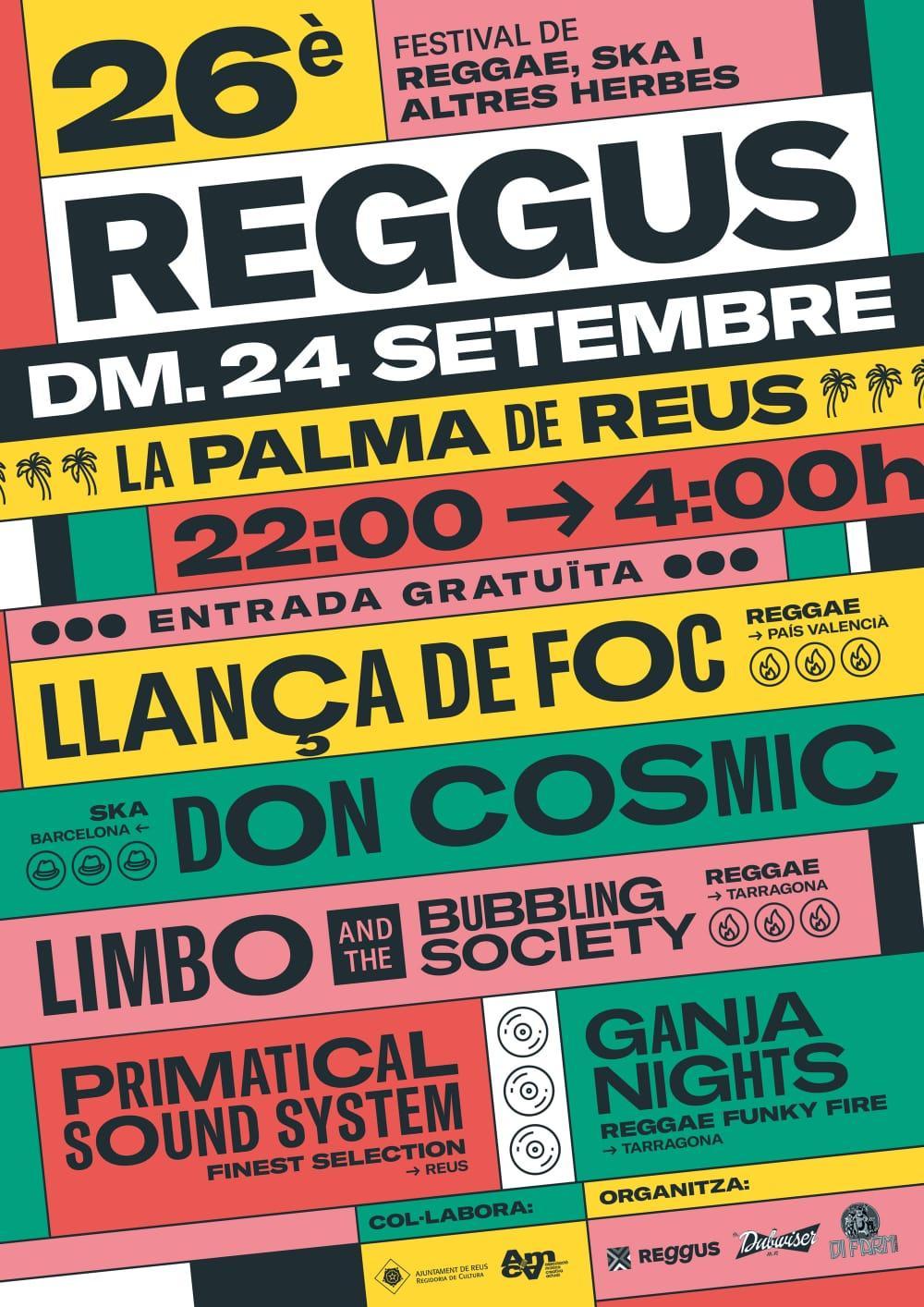 26è Reggus. Festival de