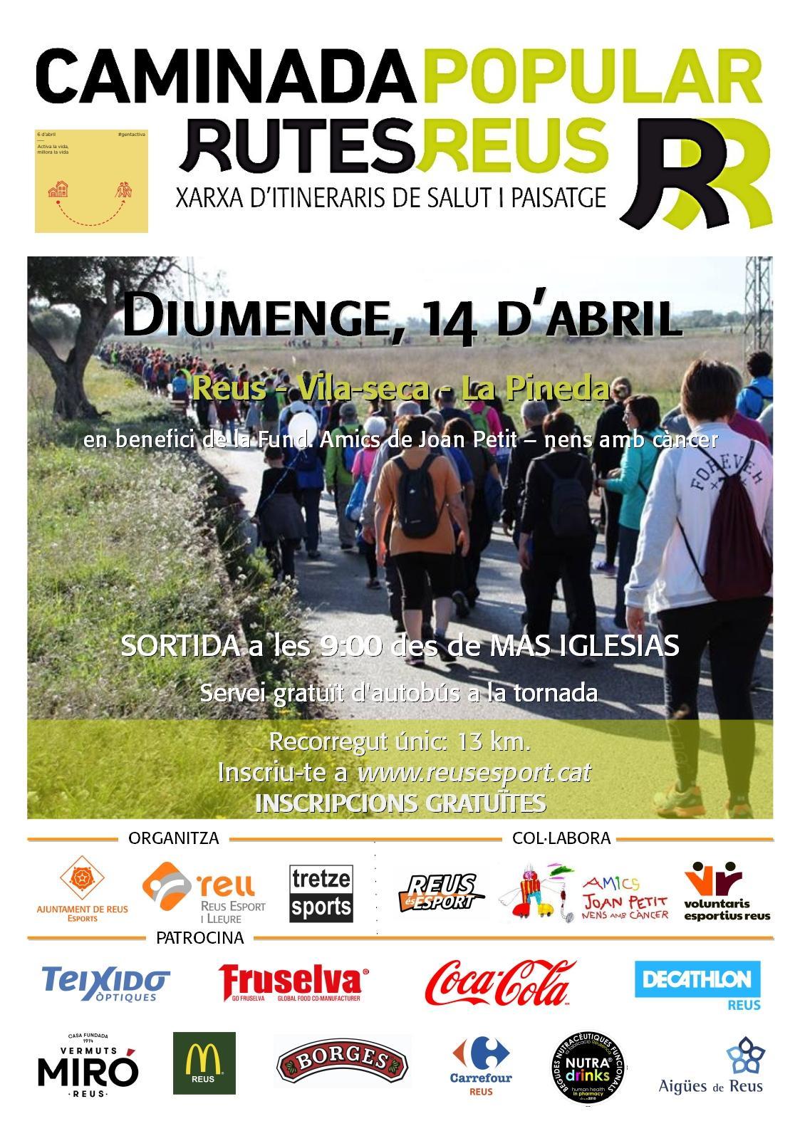 Caminada Popula 14 d'abril