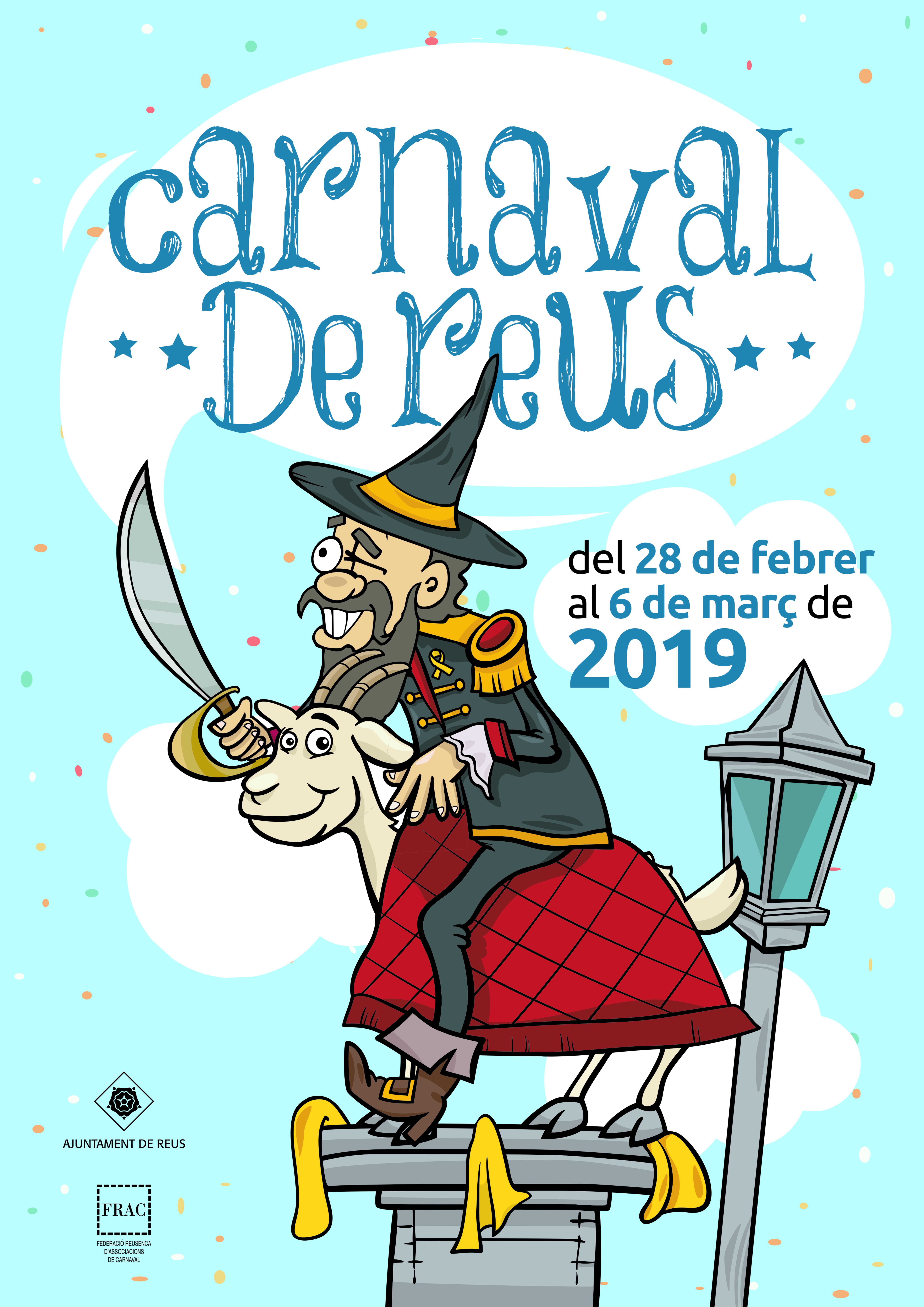 Inauguració de l'exposició de cartells de carnavalE