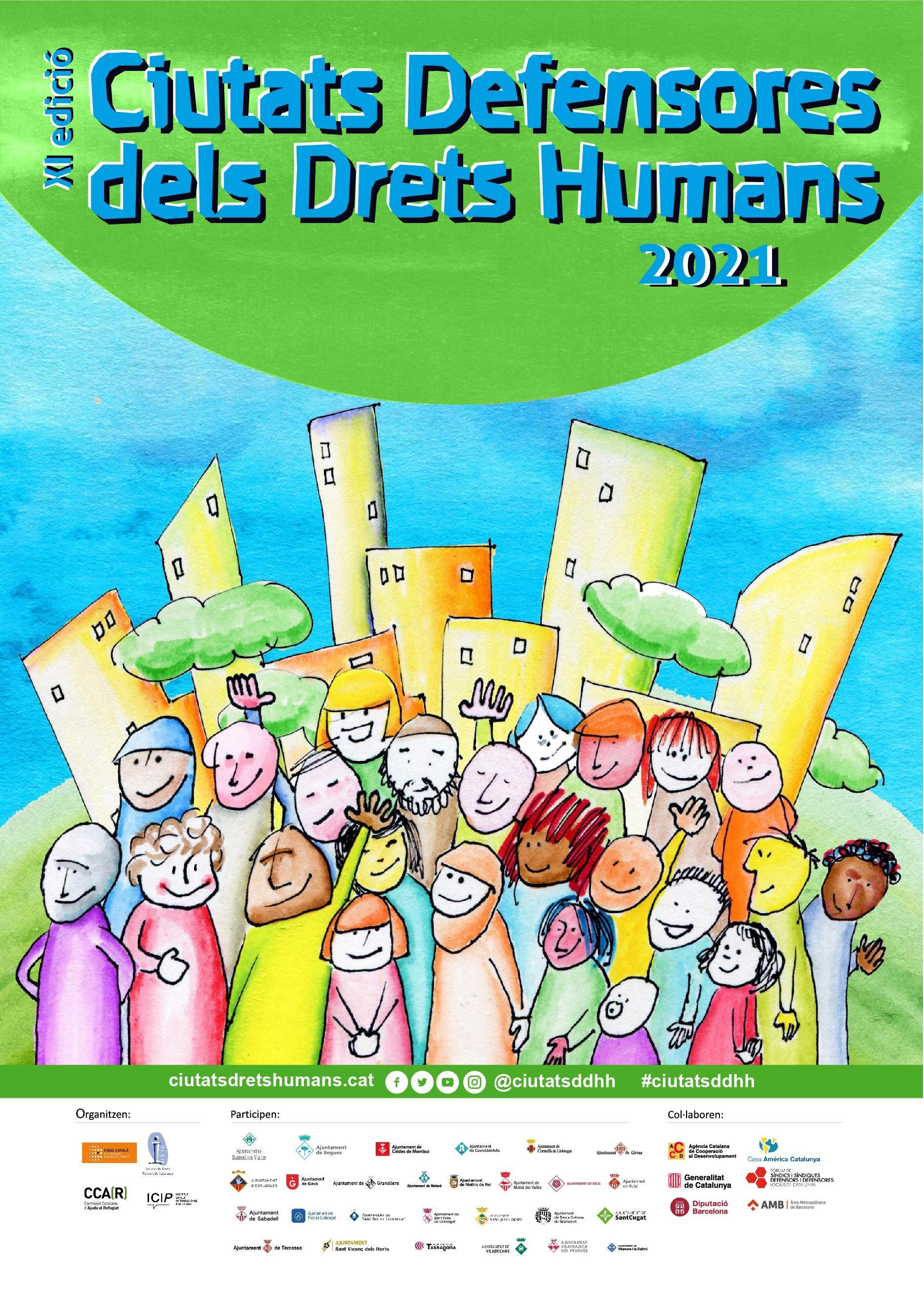 Inauguració de l'11a edició del projecte Ciutats Defensores dels Drets Humans