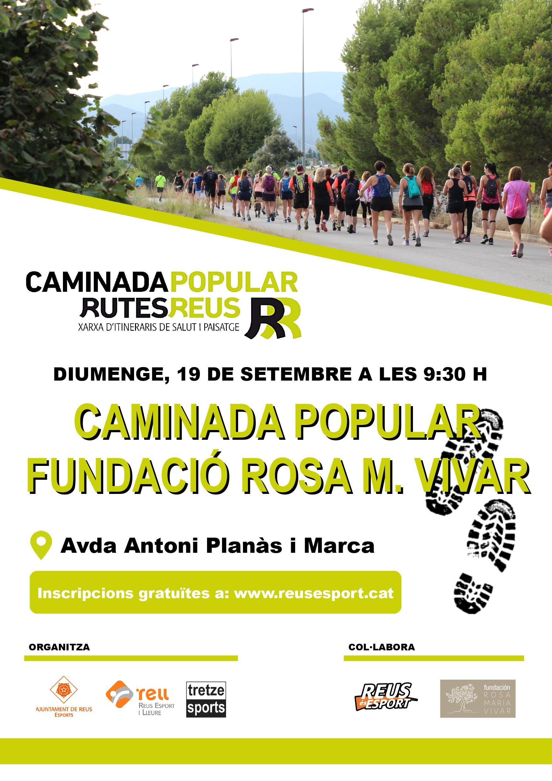 Caminada Popular Fundació Rosa M Vivar