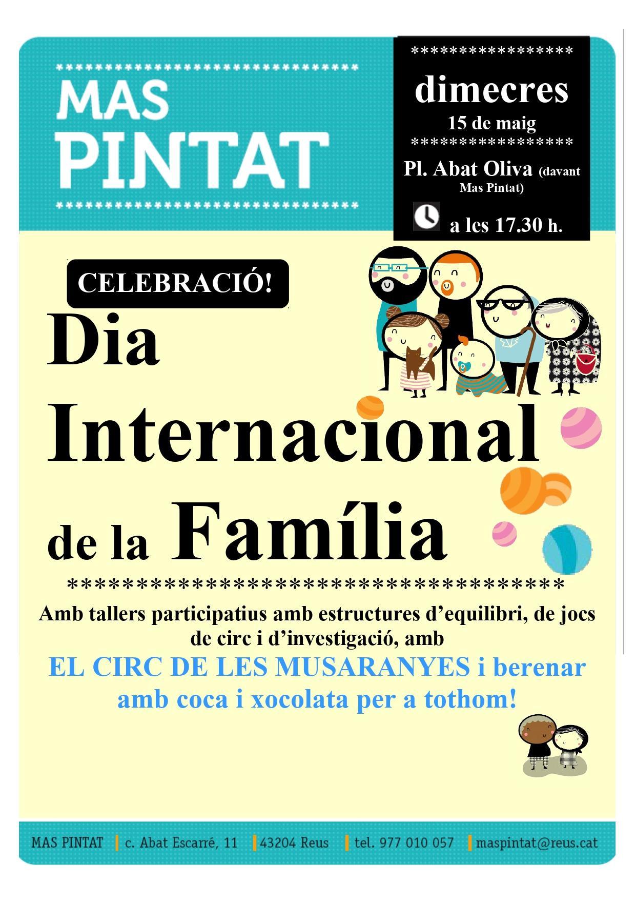 Celebració del DIA INTERNACIONAL DE LA FAMILIA