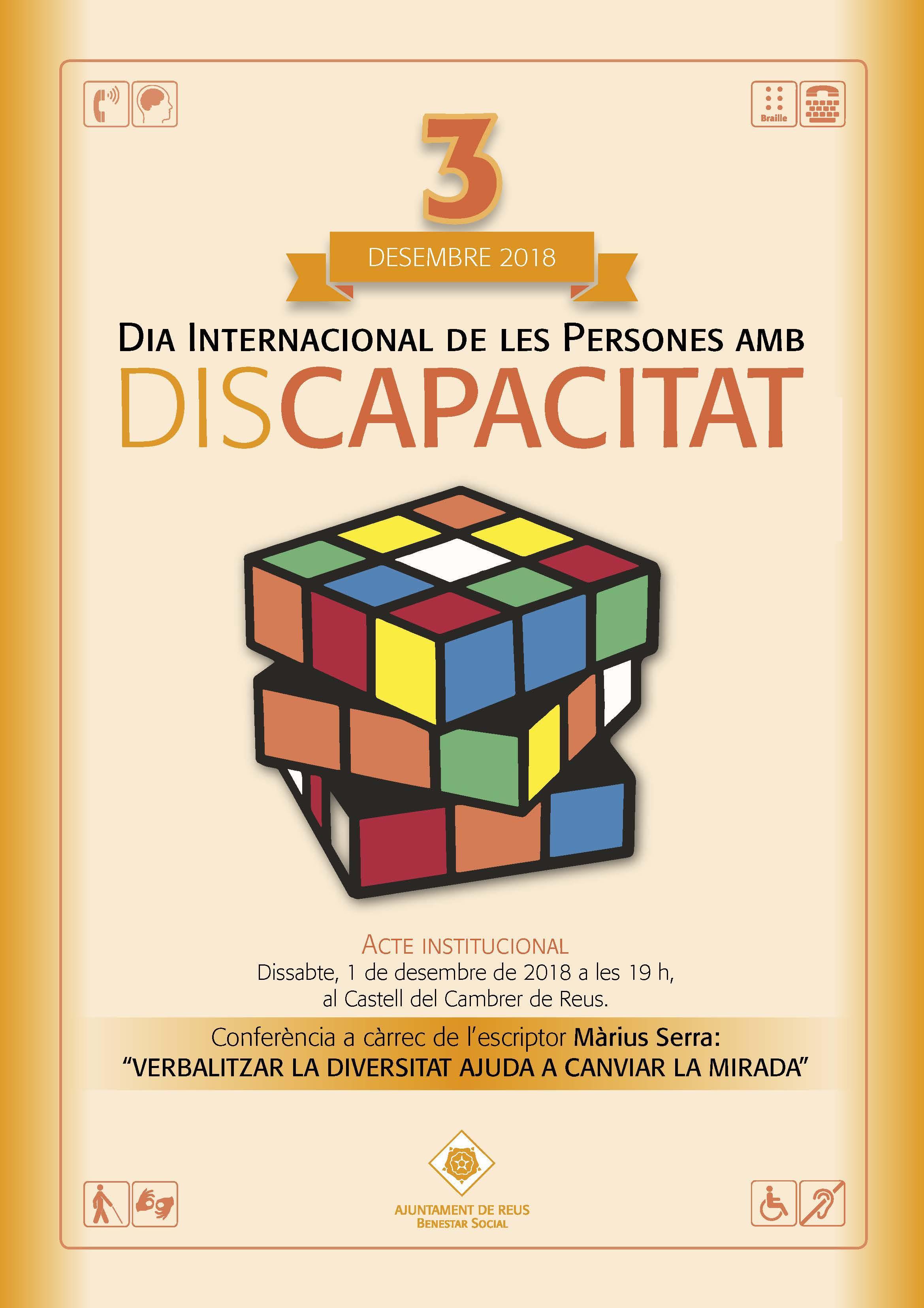 """Conferència """"ESPORT INCLUSIU: benefici per a tothom"""" i actuació de Ball inclusiu de Wapachà Diversity"""