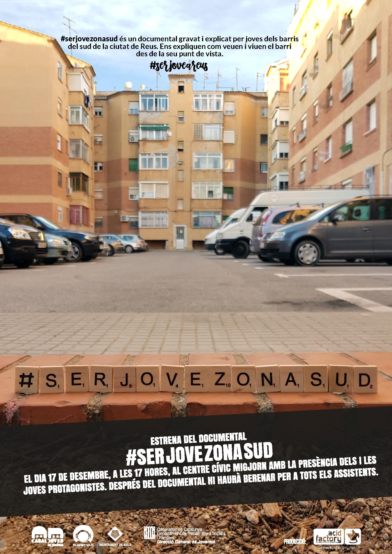 Projecció del documental #serjovezonasud