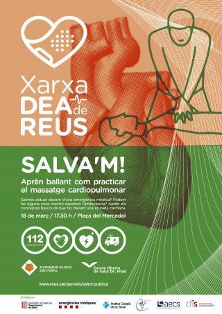 SALVA'M. Presentació de la Xarxa de desfibril·ladors