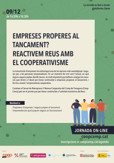 Empreses properes al tancament? Reactivem Reus amb el Cooperativisme